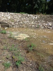 A local river