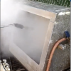 Our Indoor/Outdoor Portable Hood Vent Cleaning System in Action!