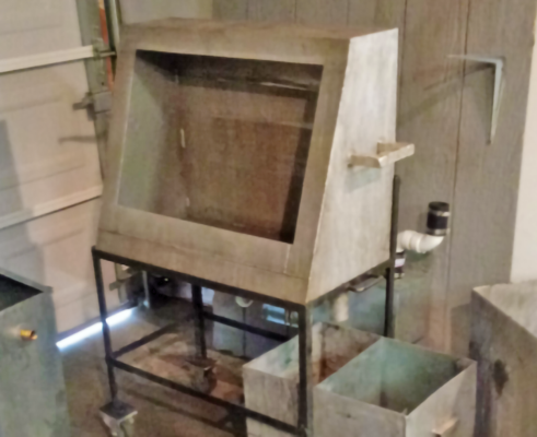 A1 Filter Box Cleaning System